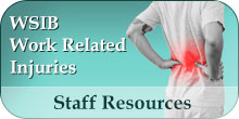 Staff Resources - WSIB Work Related Injuries