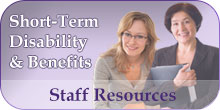 Staff Resources - Short-Term Disability & Benefits