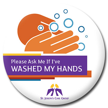 Please Ask Me If I've WASHED MY HANDS