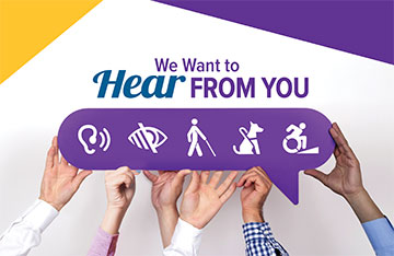 We Want to Hear From You - Enhancing Accessibility at St. Joseph's Care Group