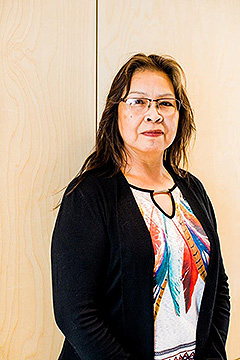 Carla Shawayhamaish is an Indigenous Culture Health Associate with St. Joseph's Care Group