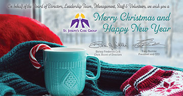 Holiday Message from Bishop Colli and Tracy Buckler