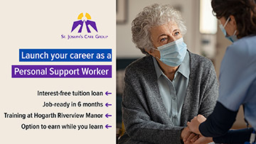 Launch your career as a Personal Support Worker