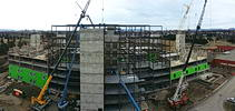 416 Long-Term Care (LTC) Beds, Expansion to Hogarth Riverview Manor (HRM) - Construction - May 7, 2014