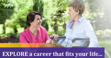 Personal Support Worker - EXPLORE a career that fits your life...
