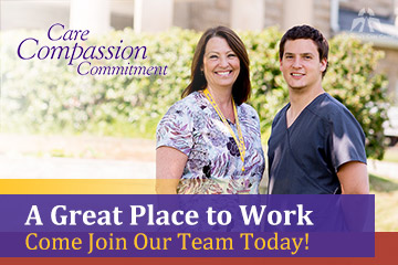 A Great Place to Work - Come Join Our Team Today!